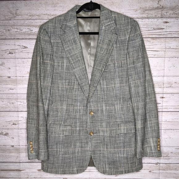 Vintage Polo University Club Sport Coat/Blazer